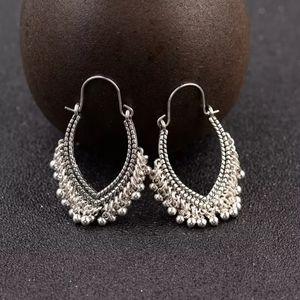 ☯️ silver gypsy earrings boho